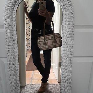 Burberry London Pink Nova Check Doctor Bag